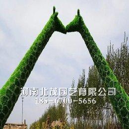 南京城市绿雕扮靓