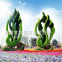 高密植物绿雕震撼来袭