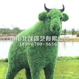 常州公园生肖绿雕