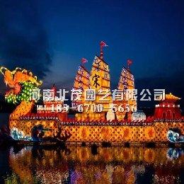 开封古城春节大型灯光秀