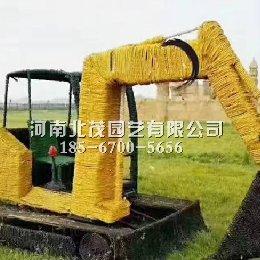 稻草挖掘机