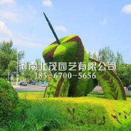 黑龙江大庆街头造型