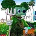 唐山仿真米老鼠绿雕
