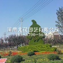 许昌植物绿雕宝葫芦